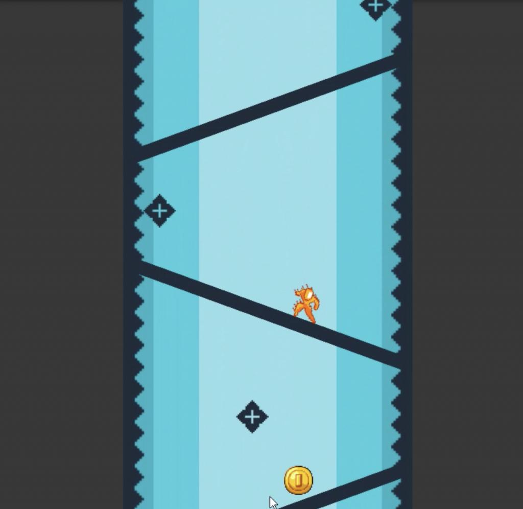 Runner Game Slide prototype